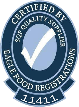 Certified by Eagle Food Registrations